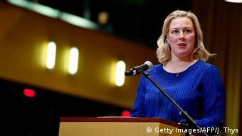 Jutta Urpilainen, la commissaire aux partenariats internationaux et négociatrice en chef de l'UE
