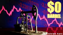 Symbolbild Ölpreis im freien Fall