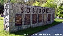 A picture dated 29 November 2005 shows a memorial at the site of a Nazi death camp in Sobibor, Poland. Alleged Nazi-era war criminal John Demjanjuk, 89, went on trial on 30 November 2009 in the German city of Munich over allegations that he drove tens of thousands of Jews to their deaths in Nazi gas chambers in 1943. Ukraine-born Demjanjuk faces charges of being an accessory to the murder of 27,900 Jews mostly from the Netherlands at the Sobibor death camp in occupied Poland. EPA/PRZEMEK WIERZCHOWSKI POLAND OUT +++(c) dpa - Report+++  