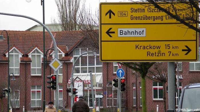 Loecknitz, niemieckie miasteczko nieopodal Szczecina