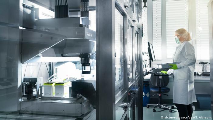 Лаборатория компании BioNTech в Майнце