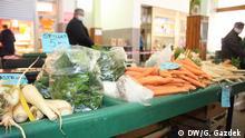 Markt in Zagreb Kroatien