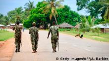 Mosambik Mocimboa da Praia | Soldaten in Mosambik | Islamisten
