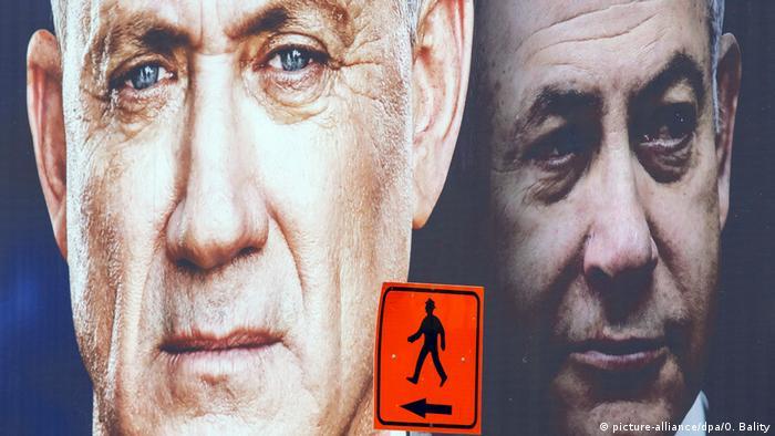Iمنافس نتانياهو السابق بيني غانتس الذي شكل معه حكومة طوارئ