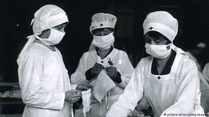 USA Spanische Grippe 1918