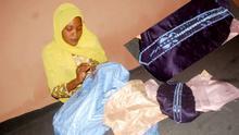 Nigeria Schneiderin Fatima Abubakar Sadiq