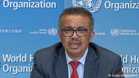 Tedros Adhanom Ghebreyesus Direktor WHO (Getty Images/AFP)