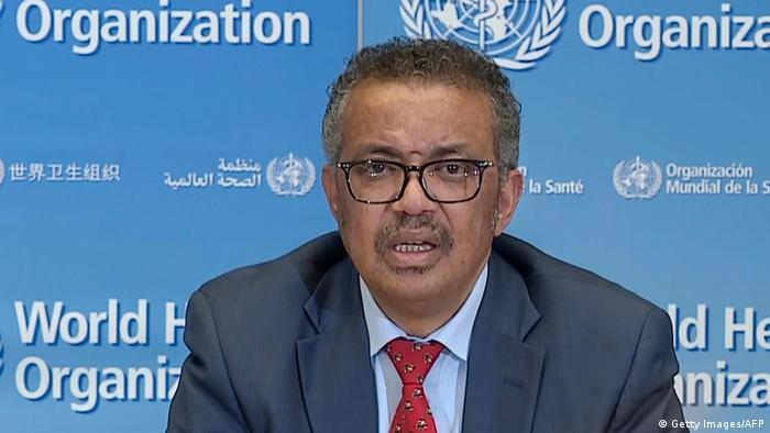 Tedros Adhanom Ghebreyesus, director de la Organización Mundial de la Salud.