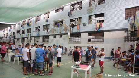 Peru Lima Lurigancho Gefängnis (Imago Images/Zuma)