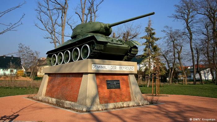 Танковый памятник в Байльроде
