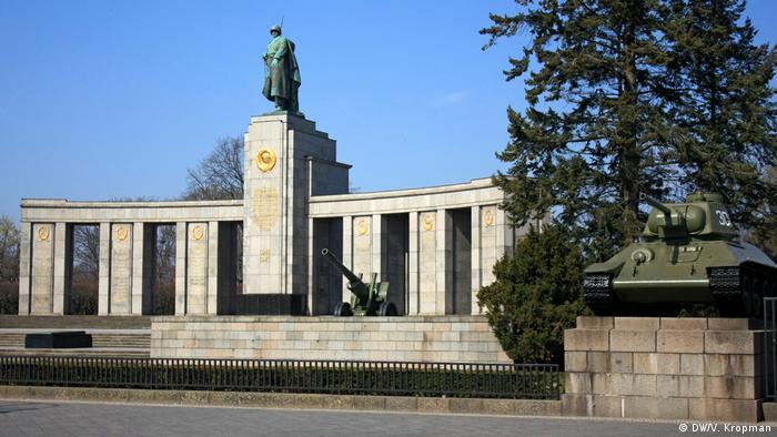 Мемориал павшим советским воинам в берлинском Тиргартене