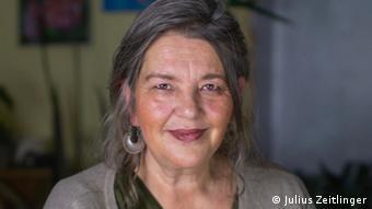 Doro Blancke, a refugee rights activist in Vienna