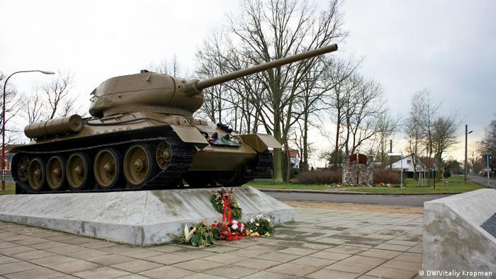 Танковый памятник в Кинице