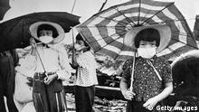Japan Mundschutz Grippe Krankheiten Schutz Virus