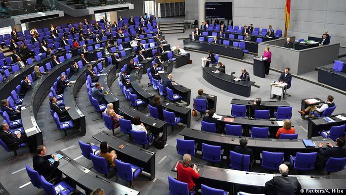 Deutschland Berlin Bundestag | Coronavirus | Angela Merkel, Bundeskanzlerin
