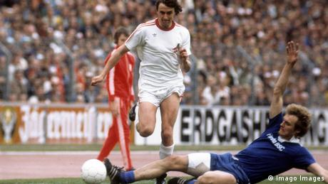 Fußball DFB-Pokalfinale 1976 1977, Wiederholungsspiel (Imago Images)