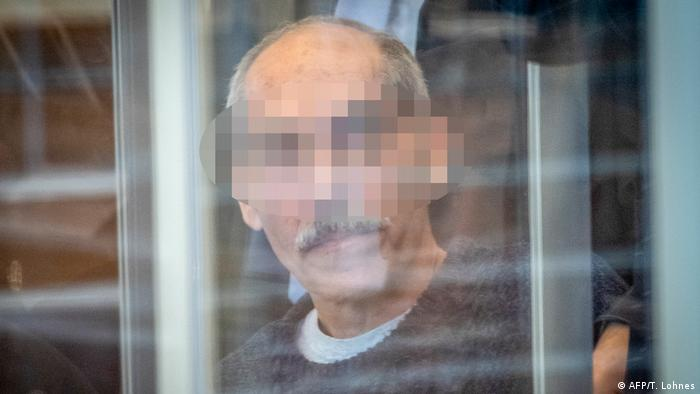 Syrien Anwar Raslan Prozess (AFP/T. Lohnes)
