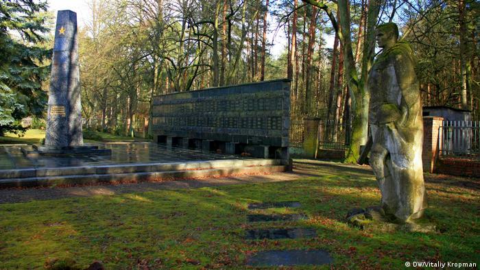 Советское воинское кладбище в Штендале