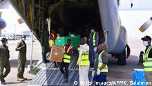 Nigeria Abuja | Coronavirus | Jack Ma Hilfsgüter