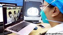 Äthiopien Addis Ababa | Coronavirus | Video Anruf aus Wuhan