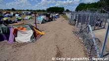 Ungarn Röszke Flüchtlingslager