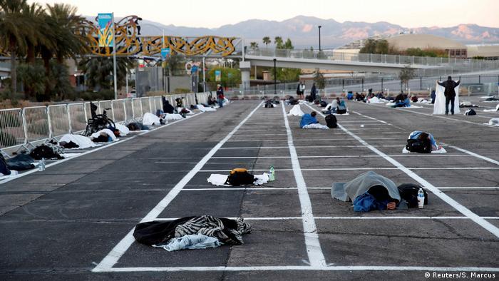 Bildergalerie Coronavirus & Obachlosigkeit | Las Vegas, USA (Reuters/S. Marcus)