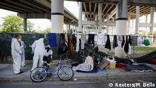 Bildergalerie Coronavirus & Obachlosigkeit   Miami, USA