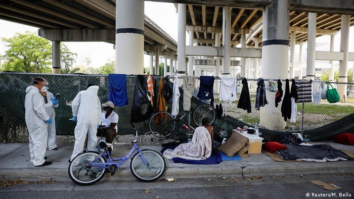 Bildergalerie Coronavirus & Obachlosigkeit | Miami, USA