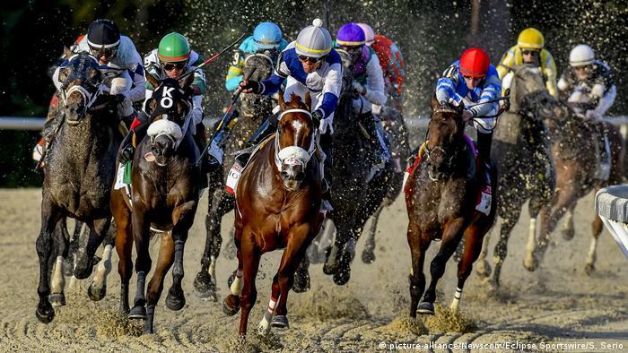 USA Florida Pferderennen