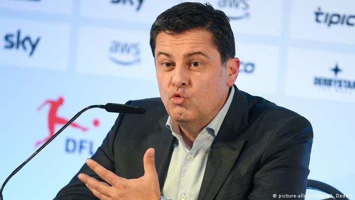El jefe de la Liga Alemana de Fútbol, Christian Seifert.