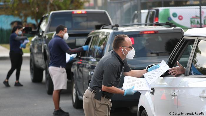 USA Steigende Arbeitslosigkeit durch Coronavirus