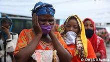Tansania Dar es Salaam | Coronavirus | Beerdigung Gertrude Rwakatare, Politikerin