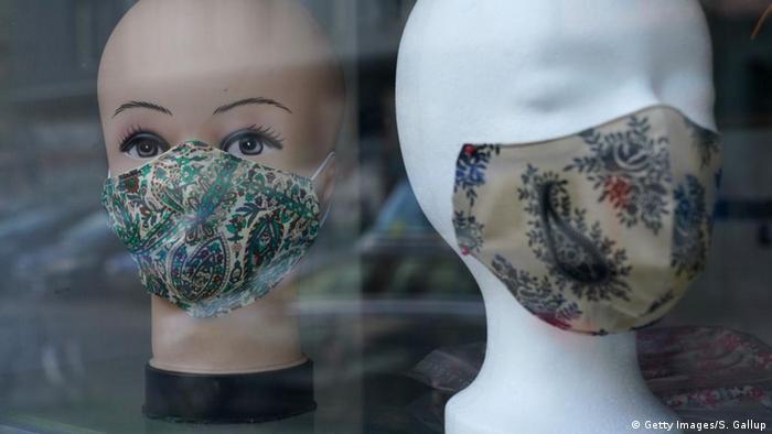 Coronavirus Mundschutz selbst gemacht (Getty Images/S. Gallup)