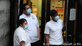 USA New York   Coronavirus   lateinamerikanische Bevölkerung