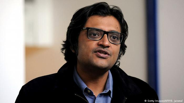 Arnab Goswami indischer Journalist