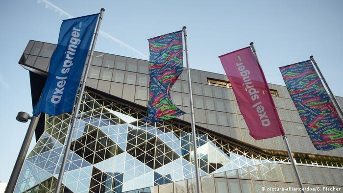 Siedziba koncernu Axel Springer w Berlinie
