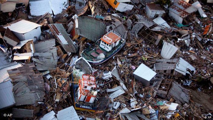 Chile Erdbeben Februar 2010 Flash-Galerie