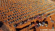 Brasilien Manaus Coronakrise Friedhof