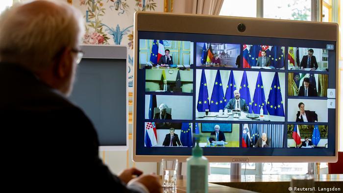 Líderes europeos acuerdan crear un fondo de recuperación