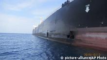 Persischer Golf Iran Öltanker