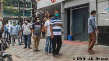 Bangladesch Dhaka Coronavirus Maßnahmen Social Distancing Markt