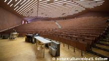 Coronavirus - Universität Stuttgart leerer Hörsaal