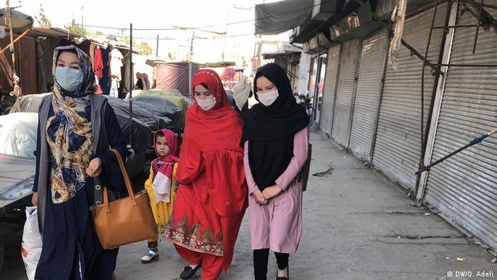 Afghanistan Kabul Corona-Krise (DW/Q. Adeli)