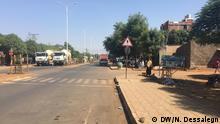 Äthiopien Gilgel Beles Stadt
