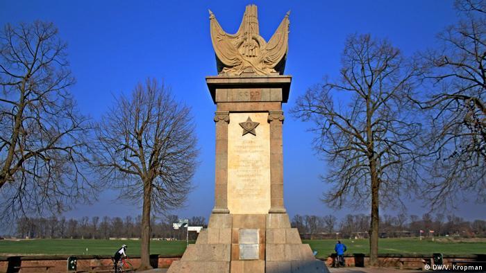 Памятник в Торгау