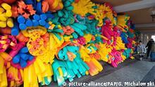 Mehrfarbiger Polyurethanschaum