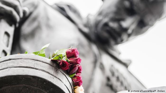 Советский воинский мемориал в берлинском Трептов-парке