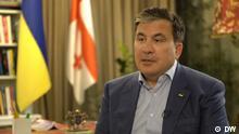 DW-Interview mit Michael Saakaschwili, ukrainisch-georgischer Politiker