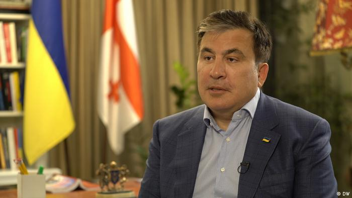 Georgian-turned-Ukrainian politician Michael Saakashvili