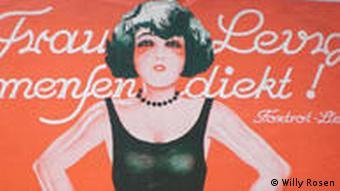 Deckblatt der Noten zum Schlager Frau Levy mensendiekt (Foto: DW)